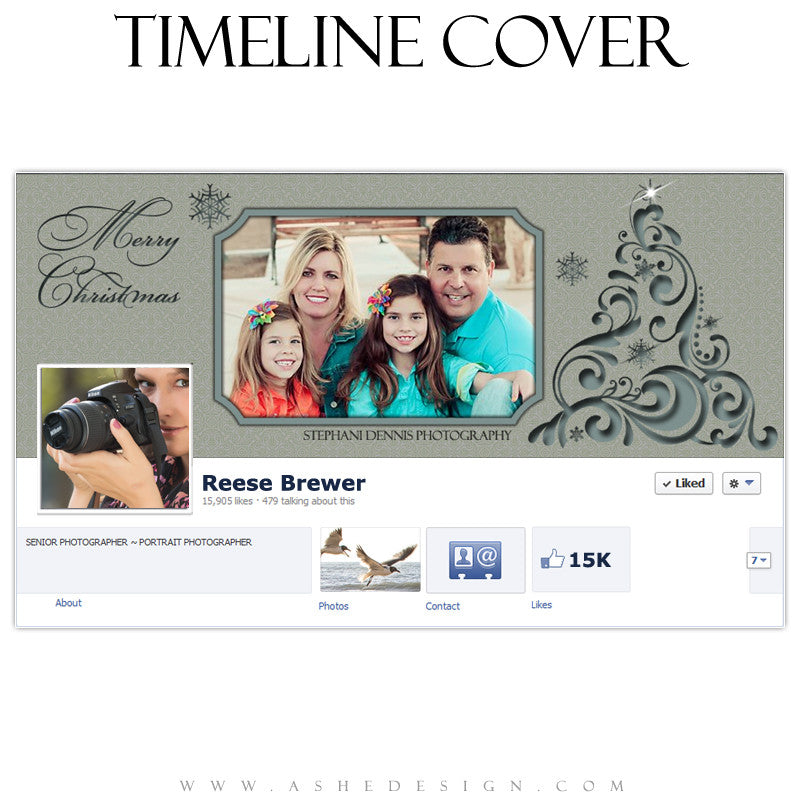 Timeline Cover Design - Filigree