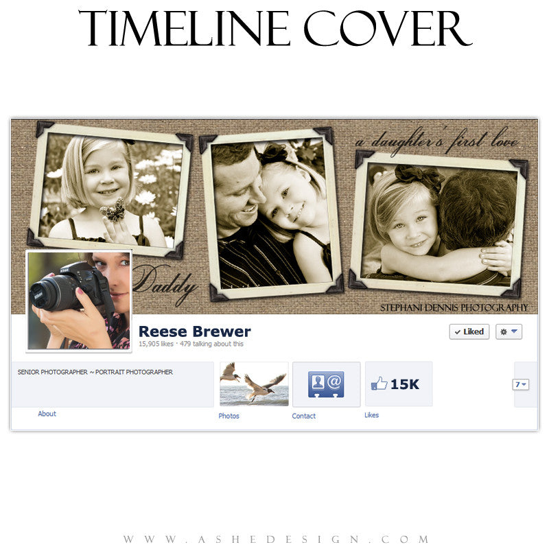 Timeline Cover Design - First Love