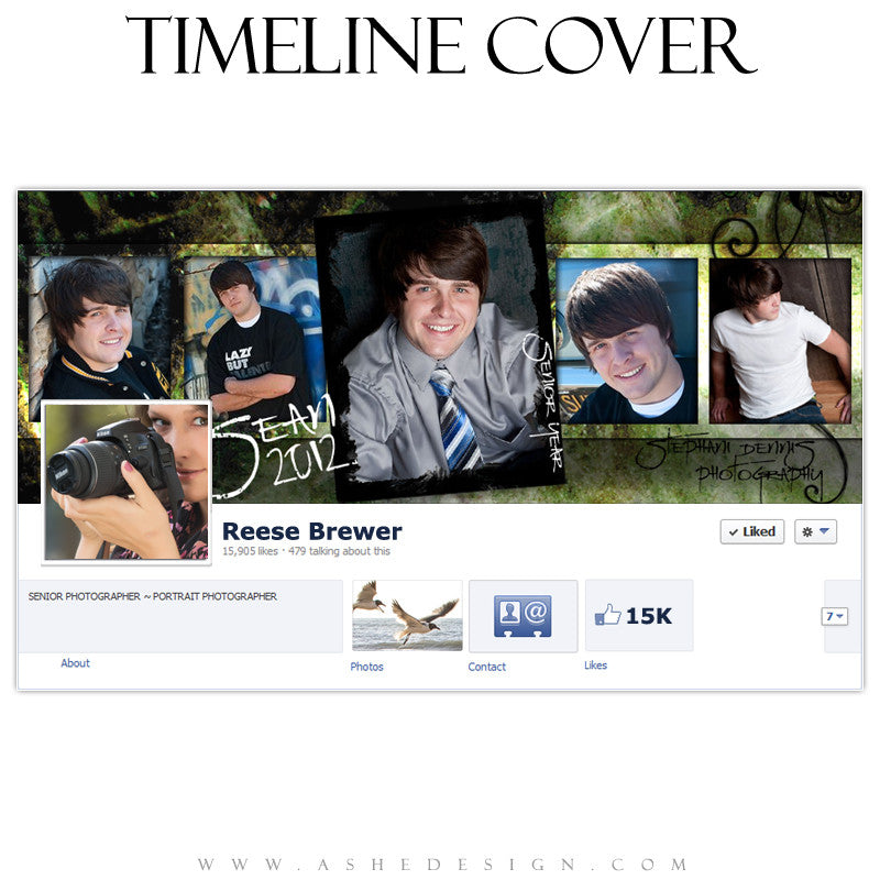 Timeline Cover Design - Flashback