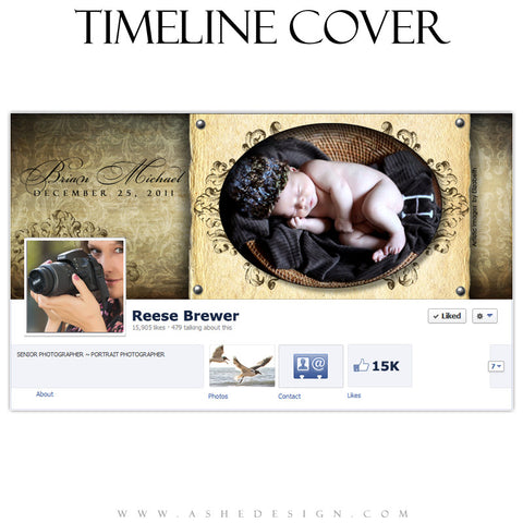 Facebook Timeline Cover - Ginger