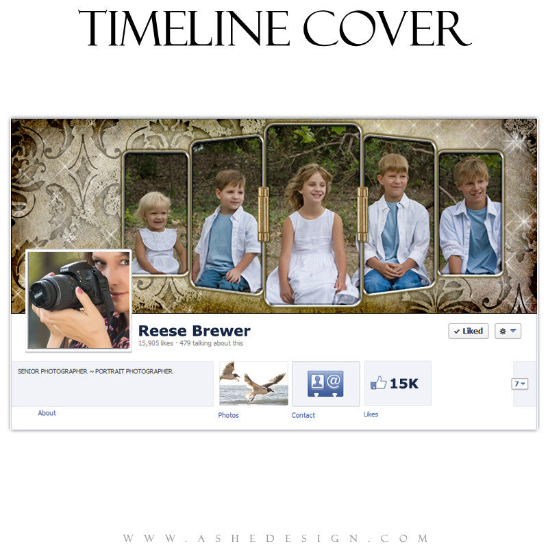Timeline Cover Design - Hinged