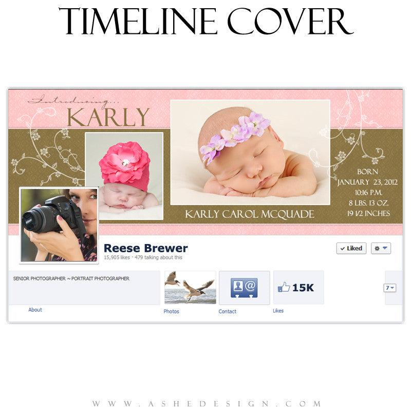 Timeline Cover Design - Karly Carol