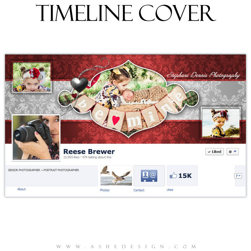 Timeline Cover Design - Little Sweeties