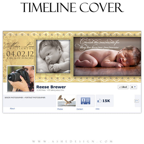 Milan Lucas Timeline Cover Template