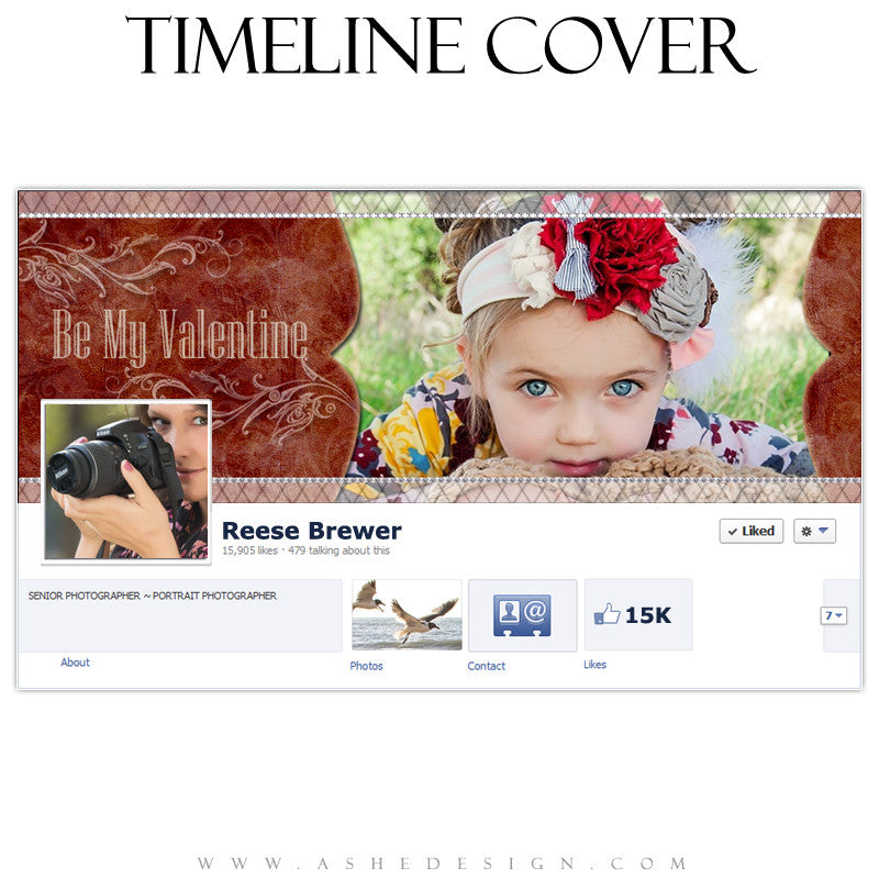 Timeline Cover Design - My Valentine
