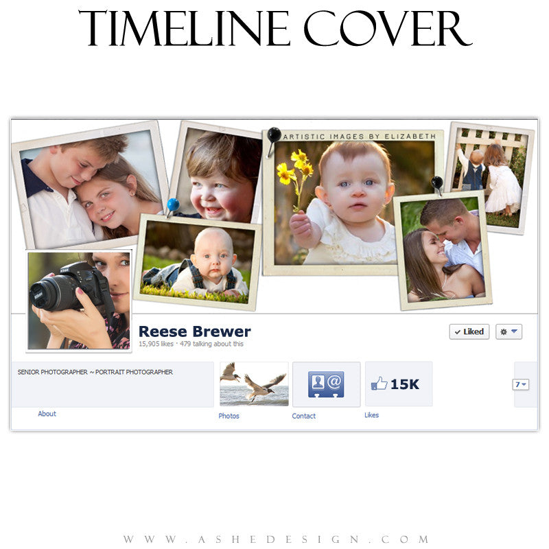 Timeline Cover Design - Photographs 2