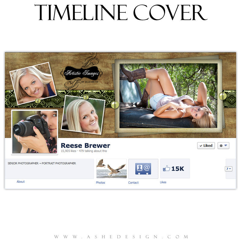 Timeline Cover Design - Pin Up