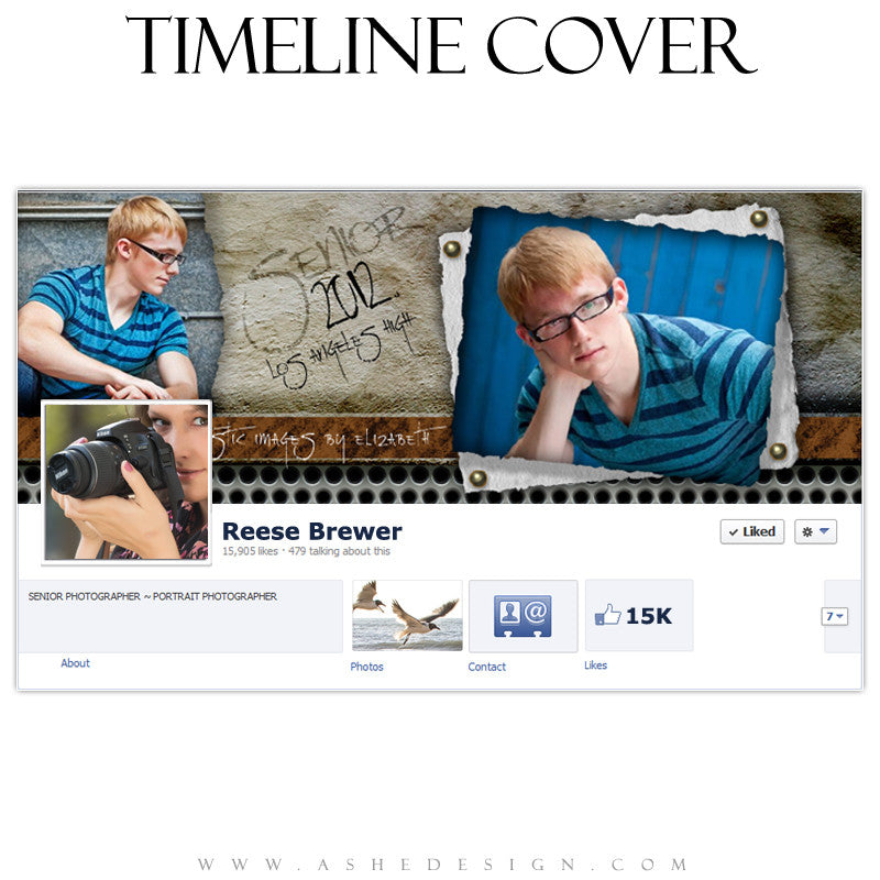 Timeline Cover Design - Scrap Metal