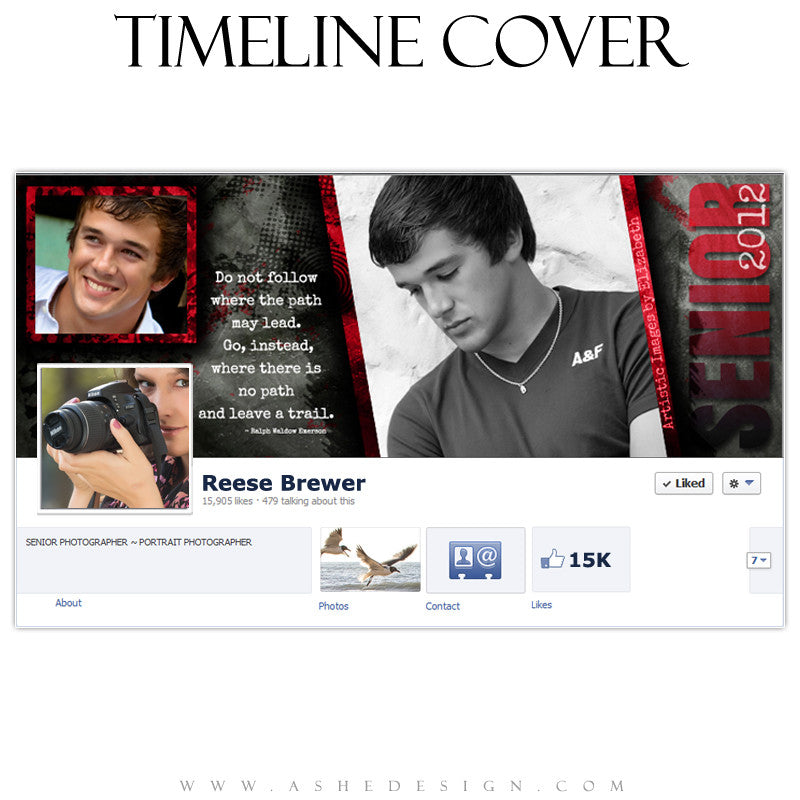 Timeline Cover Design - Special Elite
