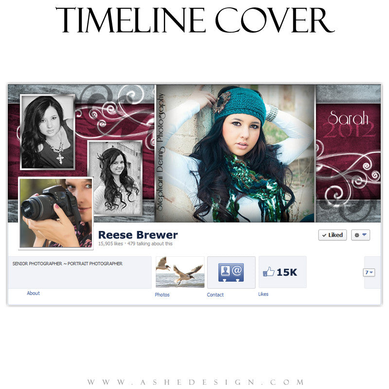 Timeline Cover Design - Steel Magnolia