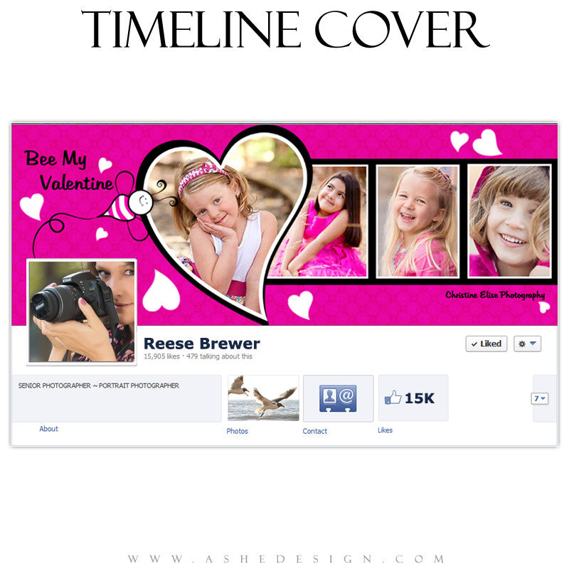 Timeline Cover Design - Think Pink