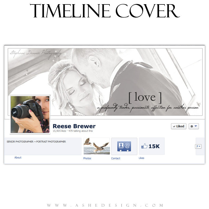 Timeline Cover Design - True Meaning