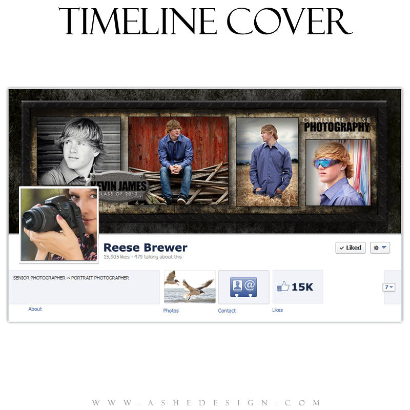 Timeline Cover Design - Wrought Iron