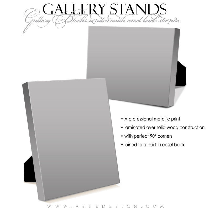 Ashe Design | 5x7 Gallery Stand Mockup