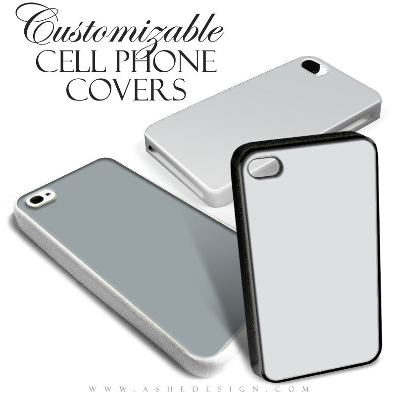 Ashe Design | Cell Phone Covers Mockup