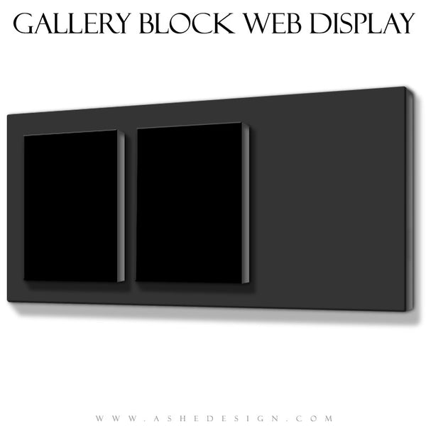 Ashe Design | Double Focus Gallery Block Mockup