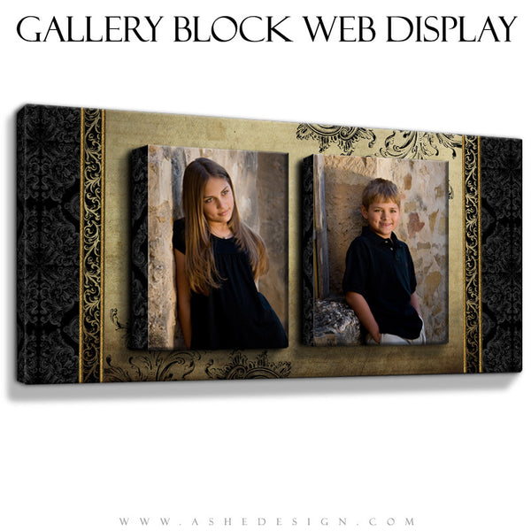 Ashe Design | Double Take Gallery Block Mockup
