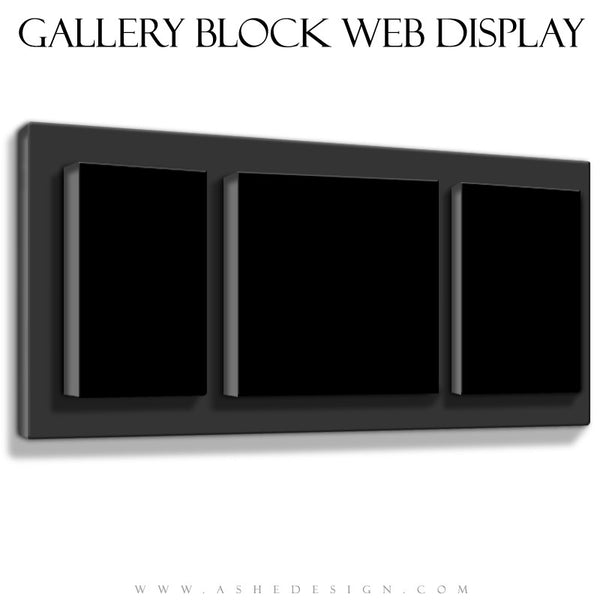 Ashe Design | The Classic Three Gallery Block Mockup