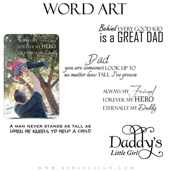 Word Art Collection - Great Dad