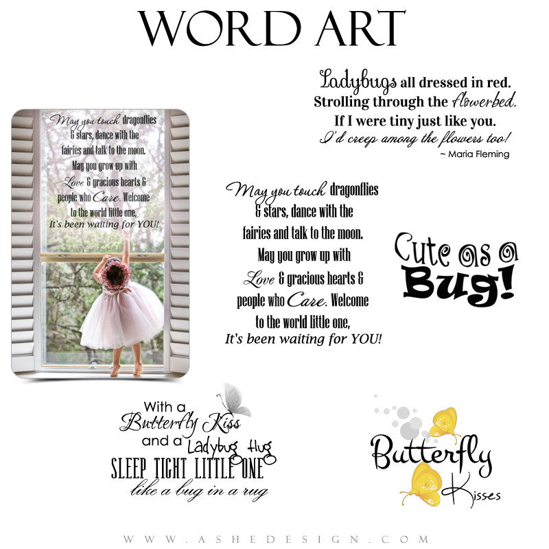 Baby Word Art Quotes - Little Buggers