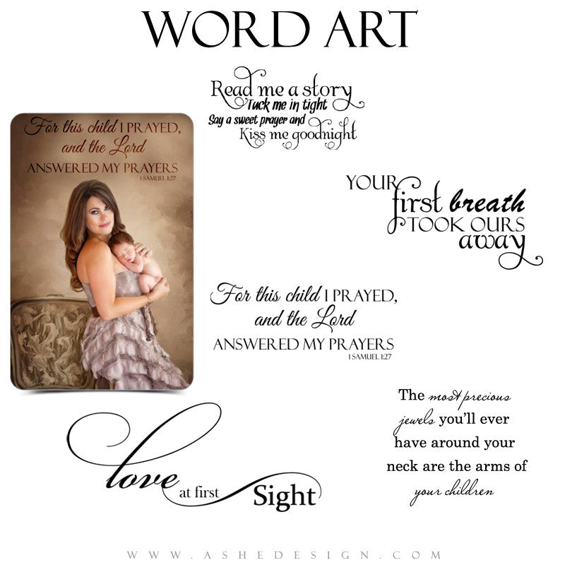 Word Art Collection - Precious Jewels