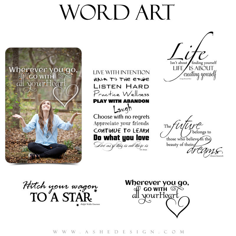 Word Art Collection - Your Future