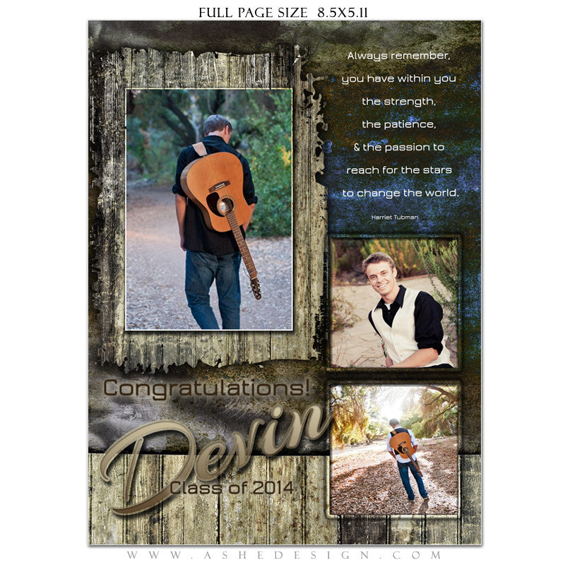 Devin Patrick Yearbook Templates for Photographers