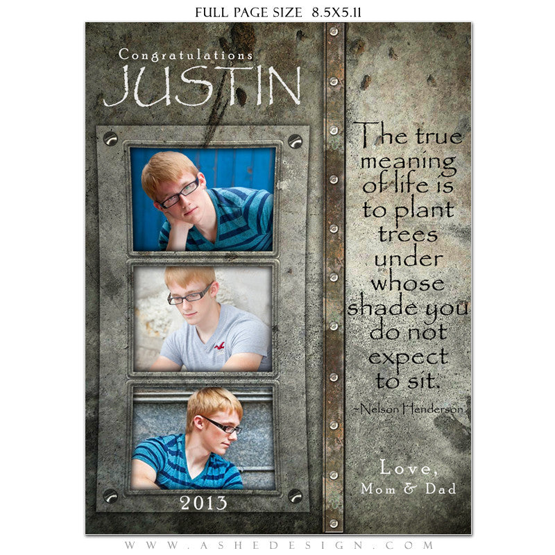 Granite Yearbook Templates for Photographers