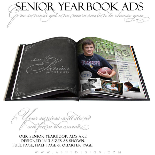 Hot Shots - Yearbook Templates for Photographers