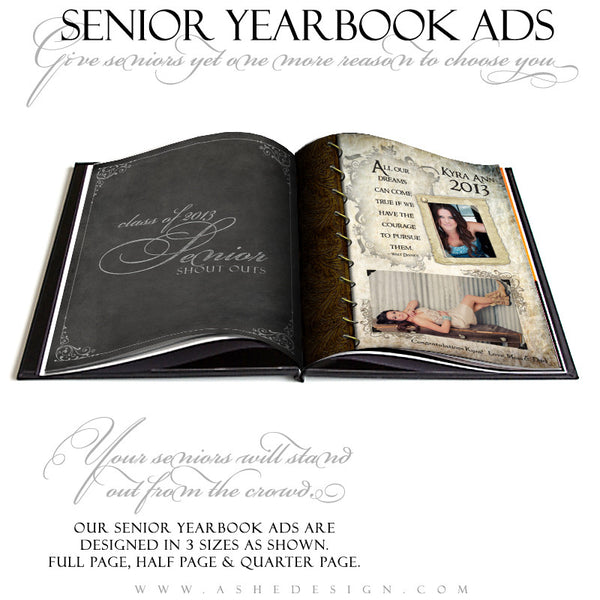 Kyra Ann Yearbook Templates for Photographers