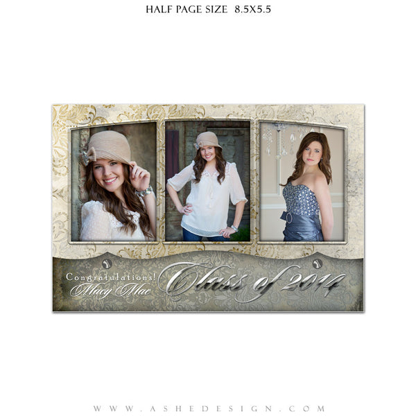 Macy Mae Yearbook Templates for Photographers