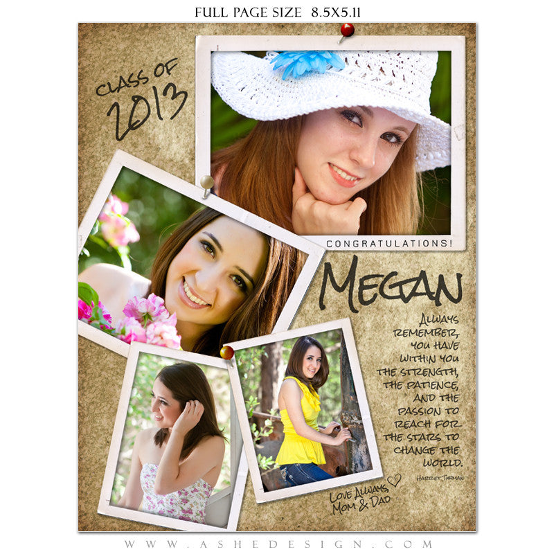Yearbook Templates for Photographers - Photographs Design