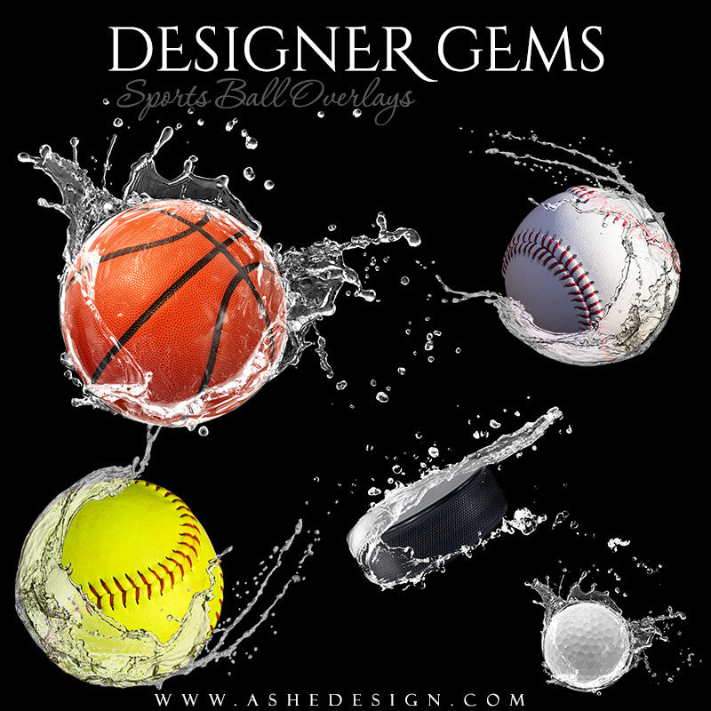 Designer Gems - Waterball Overlays Set 2