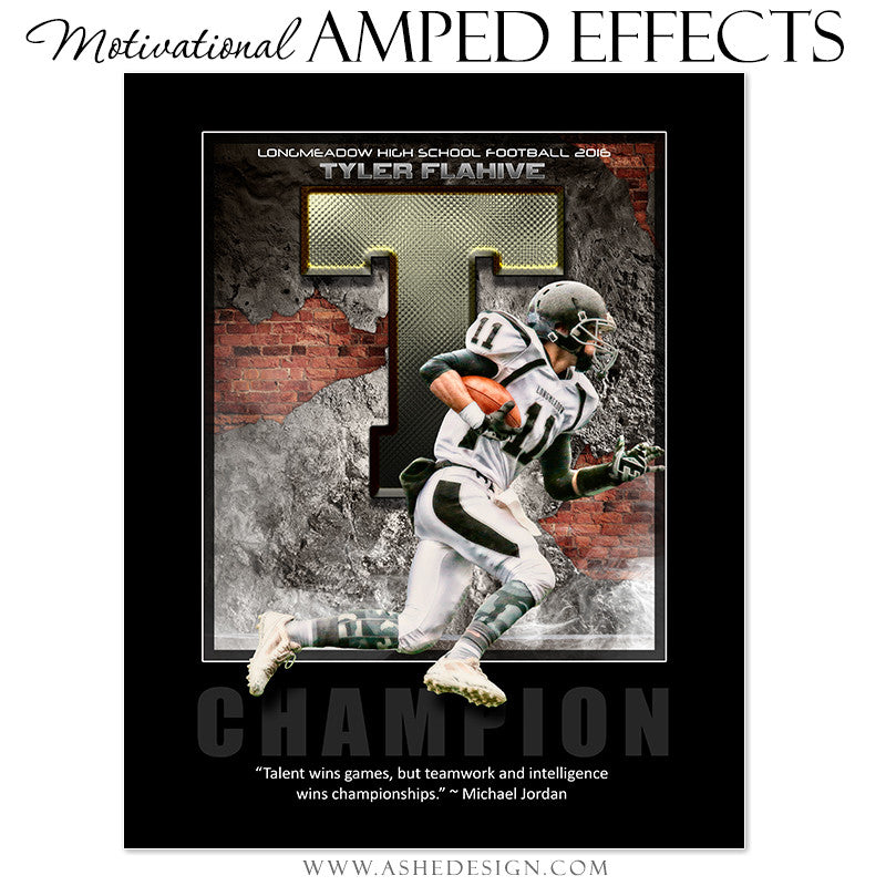 Motivational Amped Effects - Brick & Mortar
