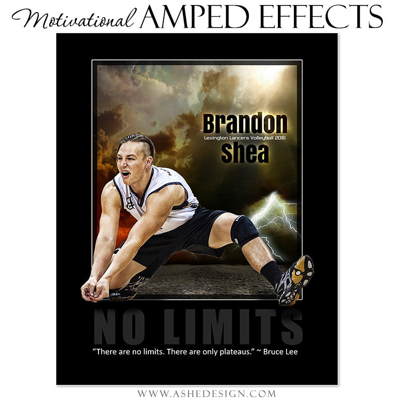 Motivational Amped Effects - No Limits