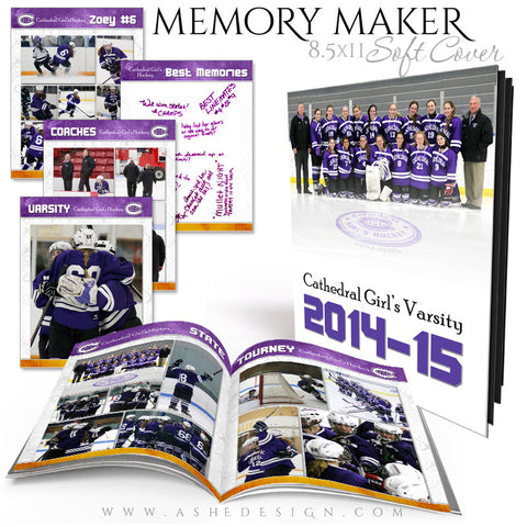 Event Book 8.5x11 | Memory Maker