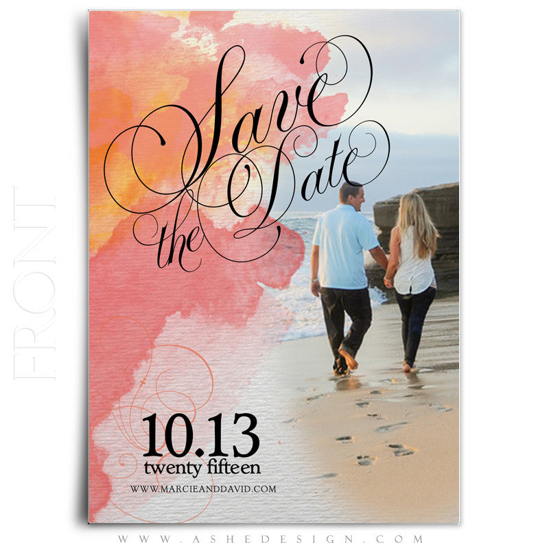 Save-The-Date Photoshop Templates