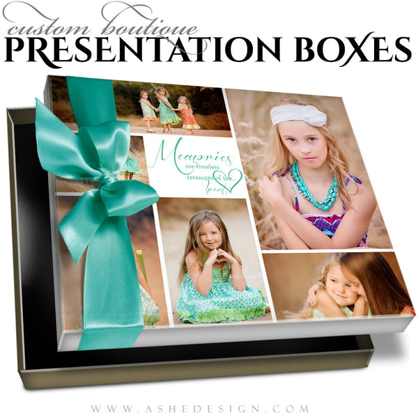 Tomorrow's Memories - Custom Boutique Presentation Box 8x10 HZ template