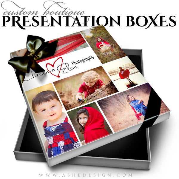 Tomorrow's Memories - Custom Boutique Presentation Box 8x10VT template