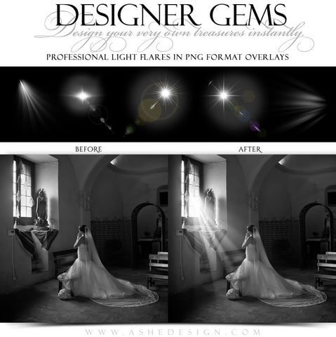 Designer Gems - Light Flares