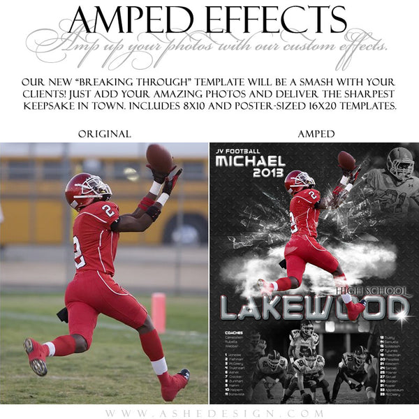 Ashe Design | Amped Effects | Breaking Through example1 web display