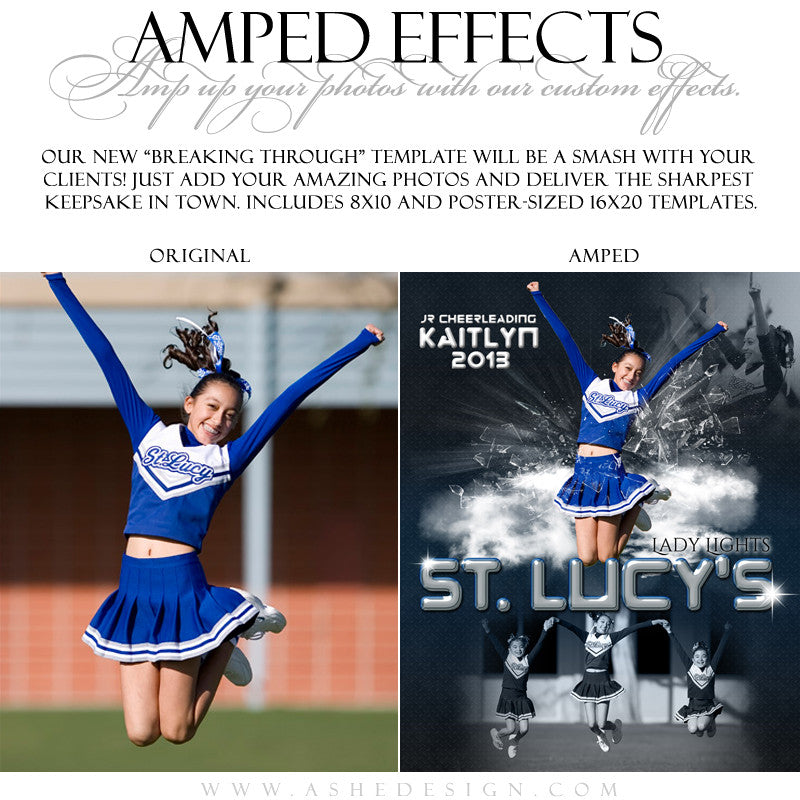 Ashe Design | Amped Effects | Breaking Through example3 web display