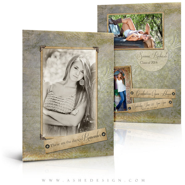 Days To Remember -5x7 Flat Card Full Set web display