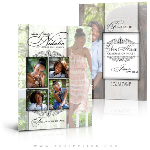Simply Classic 5x7 Flat Card full web display