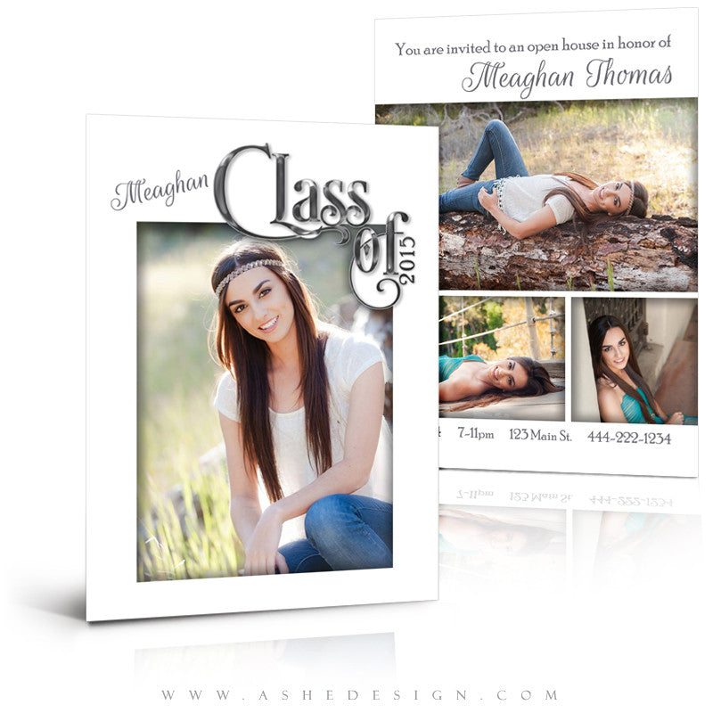 Senior Graduation Template | Simply Worded Grad full set