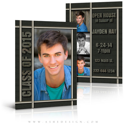 Senior Graduation Template | Iron Works full set