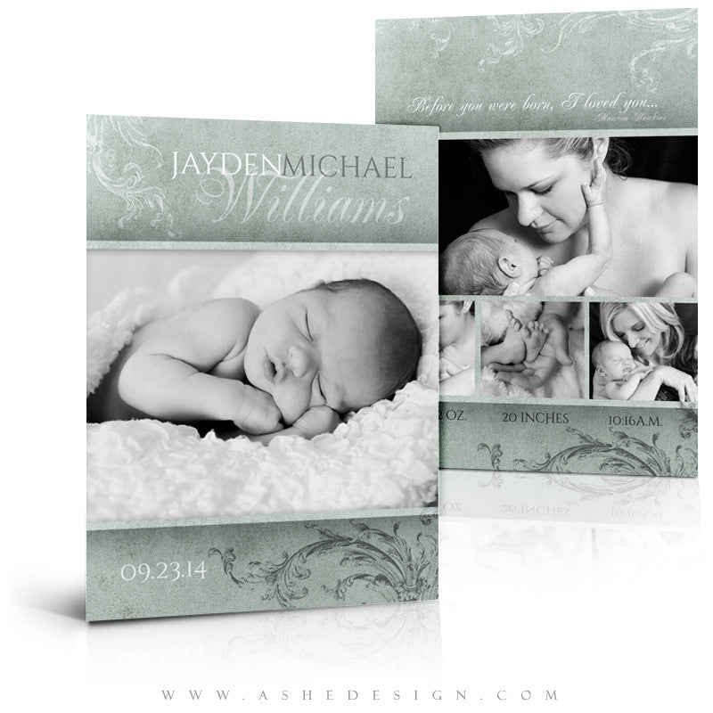 Birth Announcement Templates | A Mother's Love