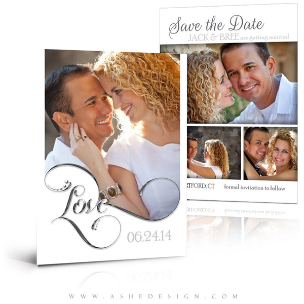 Save The Date Photography Templates | Simply Worded Love