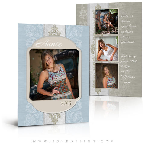 Senior Girl Graduation Template | Imagine