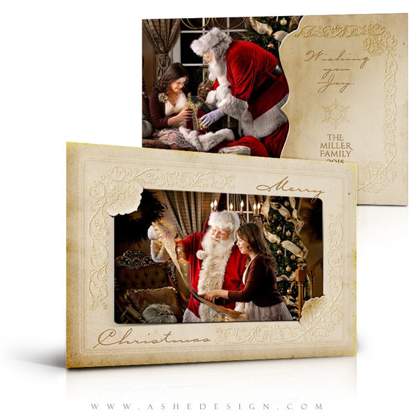 Christmas Card Template | Yesteryear